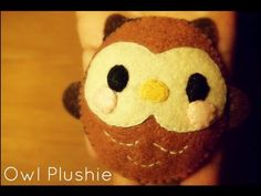 How To Sew A Kawaii Owl Plushie Tutorial