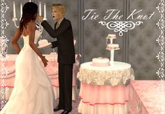 /Princess Bliss Sims - Tie The Knot - Wedding Items