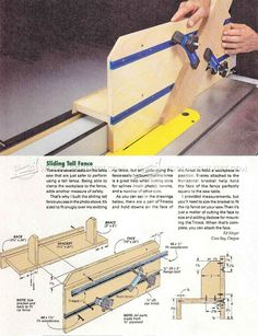 Table Saw Spline Joint Jig - Joinery Tips, Jigs and Techniques | WoodArchivist.com