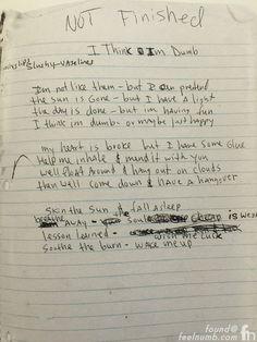 kurt cobain journal drawings - Google Search                                                                                                                                                                                 More
