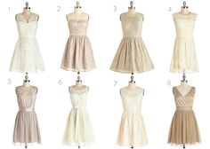 #8 is my favorite but it's not on ModCloth anymore!