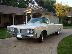 1964 Chrysler Imperial Crown Convertible Maintenance of old vehicles: the material for new cogs/casters/gears could be cast polyamide which I (Cast polyamide) can produce