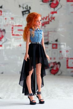 Beautiful Barbie Dolls, Pretty Dolls, Cute Dolls, Barbie Toys, Barbie Clothes, Ooak Dolls, Blythe Dolls, Barbie Fashionista Dolls, Anime Dolls