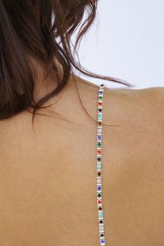 8cd289fe8e Click here for Multi-Colored Crystal Bra Straps in Silver for  25 http