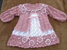 Popołudniowe robótki Marzanny: Różowy sweterek ...