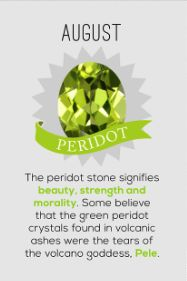 Birthstone Colors: Month by Month Meanings & Birthstones Guide August Baby, August Month, Hello August, August 31, Birthstones Meanings, Birthstones By Month, My Birthstone, Birthstone Jewelry, Peridot Jewelry
