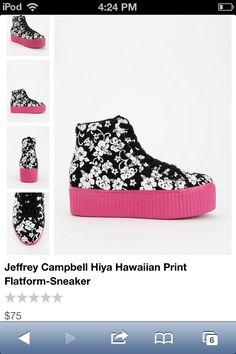 Hawaiian style platforms!