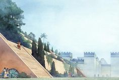 Greg Harlin - The Hanging Gardens of Ancient Babylon