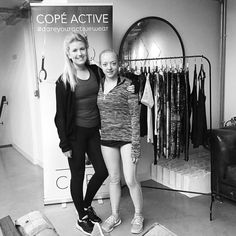 Met the lovely Natasha from @somuchmorehq this morning looking ever so dishevelled after morning yoga. Love meeting the faces behind the Instagram handles! Time for my first spin class EVER led by @jpisano_pt thanks to @somuchmorehq @copeactive & @cpressjuice @coregyms. Here goes nothing... #bbbfitness #besomuchmore #keepitcore