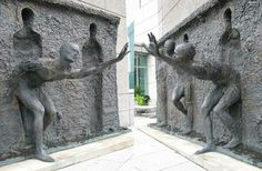 Awesome sculpture in Milton Keynes, England