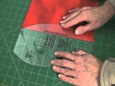 ▶ Sew Easy Lesson: Cutting Pickle Dish Pieces - YouTube