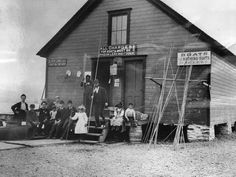 This was Skinner's Boathouse at Manitou, pictured years