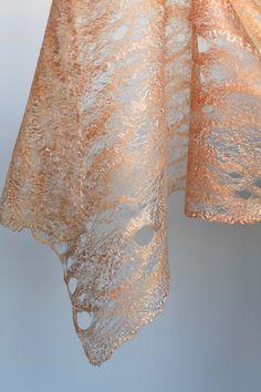 Cobweb Felted Scarf Custom | 50/50 Australian merino wool / … | Flickr