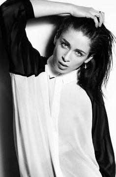 Corinne Picolo. Model