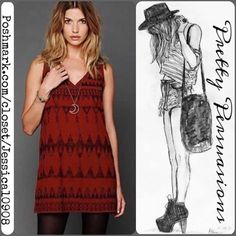 NWT Free People Beaded Boho Shift Dress HOST PICK ❤️ NWT Free People EXCLUSIVE boho shift dress featuring an all over beaded & embroidered design, double v-neckline and strap back detail, lined with a relaxed, easy fit! Looks adorable with tights, booties and a jacket for the fall/winter season! Absolutely adorable! Completely sold out and a hard to come by dress, especially NWT in perfect condition. Size: Small. Measurements available upon request. Thank you. Xo Free People Dresses