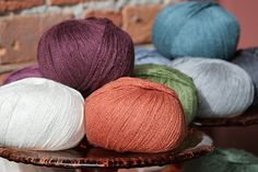 Look at that shine! Summer Silk is a squishy silk & cotton blend that's perfect for airy year-round knits. Each skein of this new arrival is 240 yards for $13.