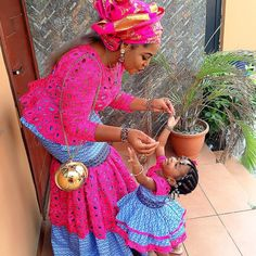 Check Out This Creative Ankara Mother and Daughter Style -http://www.dezangozone.com/2016/02/check-out-this-creative-ankara-mother.html  DeZango Fashion Zone