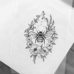 Bloemen always❤️❤️ bloem tatoeages - kleine bloem tatoeages - bloem tatoeages mouw - lotusbloem tatoeages - bloemtatoegering Bee And Flower Tattoo, Flower Tattoo Designs, Flower Tattoos, Tattoo Ideas Flower, Lotus Flower Tattoo Design, Forearm Flower Tattoo, Flower Tattoo Drawings, Tattoo Sketches, Body Art Tattoos