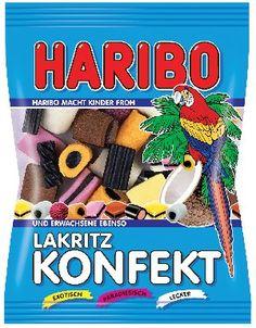 Haribo Liquorice Sweets Haribo Konfekt 200g [Artikelnummer:4001686150689] Maximum Quantity: 1 food-shop24.com