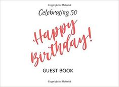 90th Birthday Guest Book Elegant Watercolor Best Wishes Celebrating Sign in Message Anniversary Happy Memory Family /& Friend Party Decorations Supply