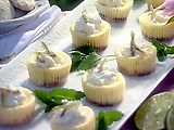 These tarts are DELICIOUS!  If you feel like Key Lime Pie and want something a little easier to make, this cupcake version is perfect!