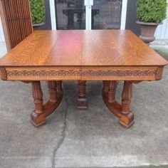 Antique And Vintage Furniture For Extension Banquet Dining Table Victorian