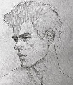 New Simple Art Drawings Sketches Sketchbooks Portraits Ideas Pencil Art Drawings, Cool Art Drawings, Art Drawings Sketches, Pencil Sketching, Horse Drawings, Realistic Drawings, Art Illustrations, Animal Drawings, Guy Drawing