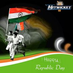 #Happyrepublicday #cricketgame #Hitwicket