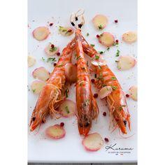 C'est dans les prestigieuses claires d'huîtres de Charente Maritime que la crevette Kuruma s'est installée.  #crevette #kuruma #shrimp #food