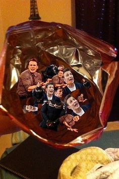 A Dorito bag filled with pictures of Chris Evans. | 33 Things You'll Only Understand If You're In Fandom