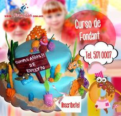 Imagen para promover los cursos de fondant impartidos en Francipan.