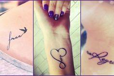 one word tattoo designs
