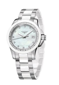 Longines the new Ladies Diamond Conquest – Sporty elegance in black and white (PR/Pics http://watchmobile7.com/data/News/2012/11/news-20121106-longines_Ladies_Diamond_Conquest_Sporty_elegance_in_black_and_white.html) (1/2)