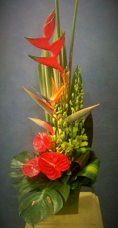 Something Tropical  www.floralhavenflorist.com.au