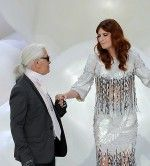 Quote of the Day: Florence Welch and Karl Lagerfeld Scrapbook Together