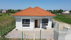 Proiect casa rezidentiala Corbeanca 3 – Profile Decorative Village House Design, Village Houses, House Foundation, Design Case, Architect Design, Gazebo, House Plans, Exterior, Outdoor Structures