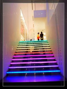 Creative and Stylish Colourful Stairs