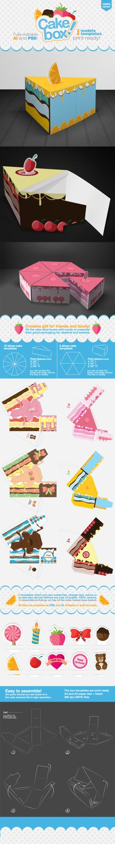 Cake Packaging Gift Box on Behance