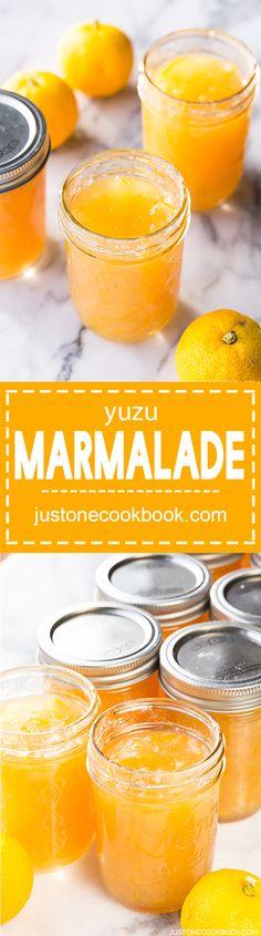 Yuzu Marmalade (柚子マーマレード) | Easy Japanese Recipes at JustOneCookbook.com
