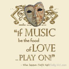 Shakespeare Twelfth Night Love Music Quote