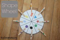 Geometrische vormen voor jonge kinderen - 15 Hands-On Math Activities for Preschoolers
