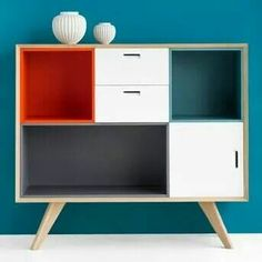 cool 43 Brilliant Furniture Design Ideas With Wood Pallets Plywood Furniture, Upcycled Furniture, Painted Furniture, Home Furniture, Furniture Design, Ikea Eket, Storage Boxes, Modular Storage, Furniture Makeover