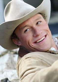 "Ledger was quoted in TIME magazine:  ""I don't think Ennis could be labeled as gay. Without Jack Twist, I don't know that he ever would have come out.... I think the whole point was that it was two souls that fell in love with each other."""