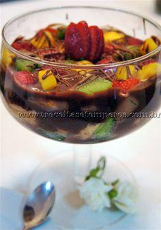 Está um calor e queremos sentir aquele gostinho do fondue de chocolate com frutas que comemos no inverno. Segue então uma ótima sugestão para saciar seu paladar... Leia mais...