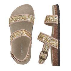 Girls' shimmer sandals - flip-flops & sandals - Girl's shoes - J.Crew