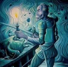 Resultado de imagen de don quijote arte