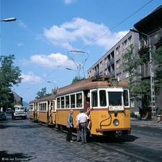 Old Photos of Trams on Street of Hungary Old Pictures, Old Photos, Anno Domini, Budapest Travel, Commercial Vehicle, Budapest Hungary, Public Transport, Historical Photos, Marvel