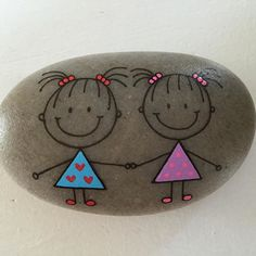 Easy Paint Rock For Try at Home (Stone Art & Rock Painting Ideas) rockpainting