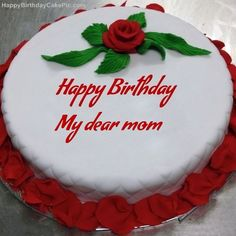 8 Best Mom Bdy Images Birthday Cakes Birthday Greetings Deserts