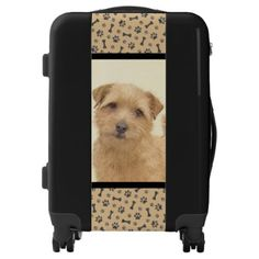 Shop Norfolk Terrier Painting - Original Dog Art Luggage created by alpendesigns. Personalize it with photos & text or purchase as is! Norfolk Terrier, Custom Luggage, Dog Art, Original Paintings, The Originals, Portrait, Dogs, Red, Gifts
